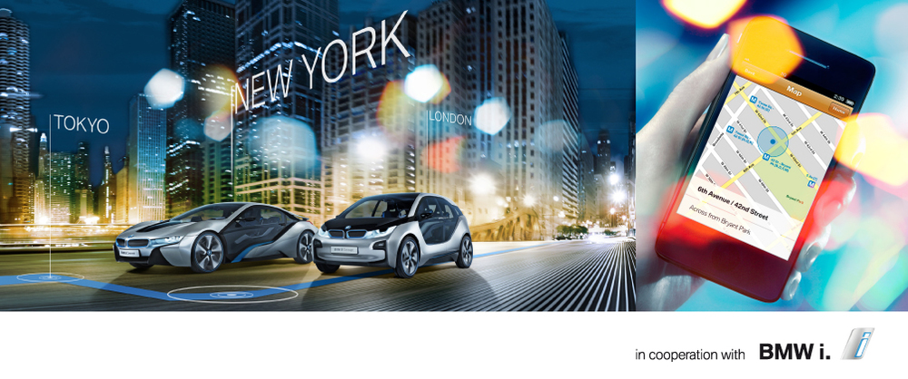 One of five local sustainable designers selected to partner with BMW for the New York stop of the BMWi electric-powered sustainable concept cars world tour.