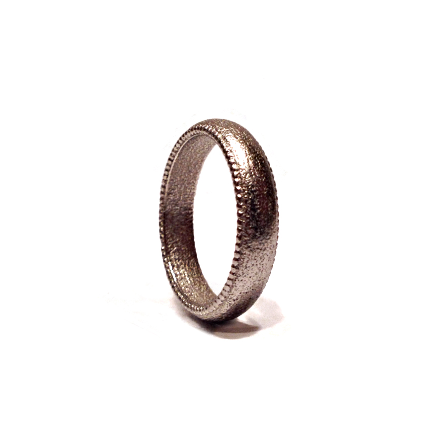 Nickel Steel Wedding Ring