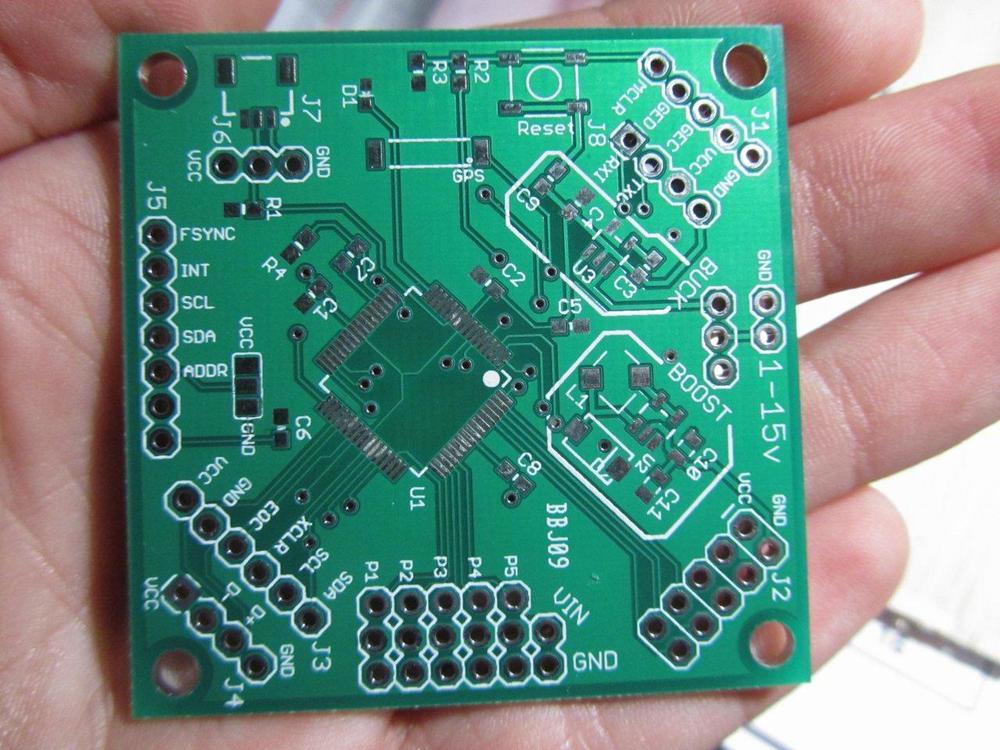 UAVController v1 PCB - Top