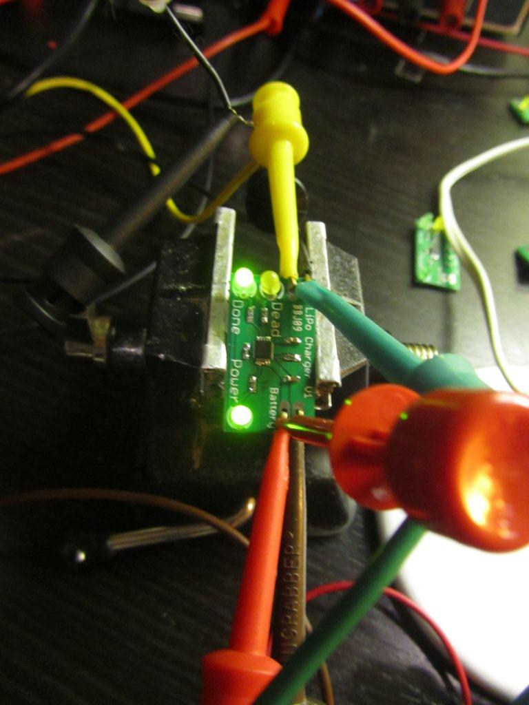 LiPo charger testing - done