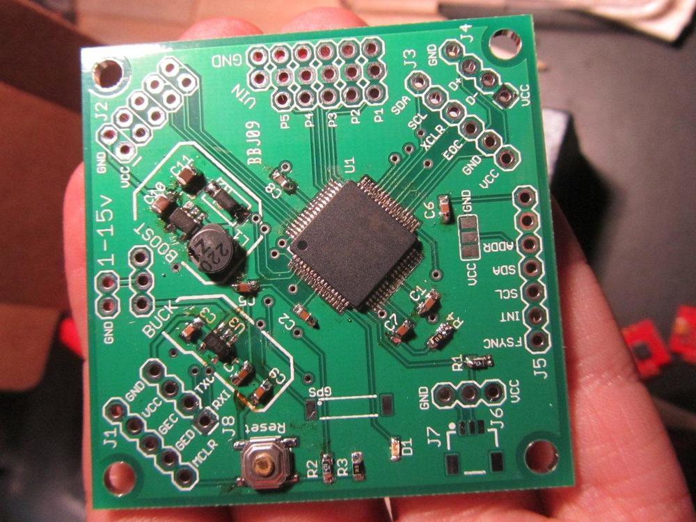 UAVController v1 Assembled