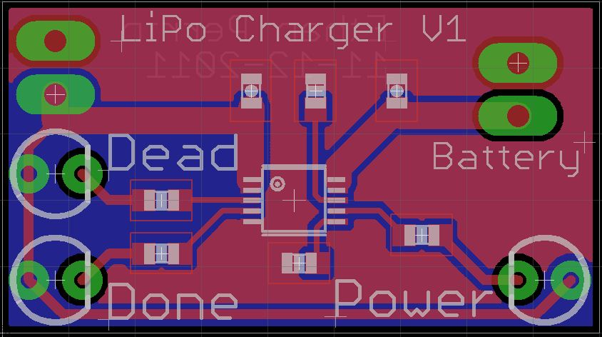 Lipo Charger Layout