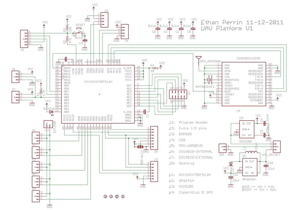 Main Controller Schematic