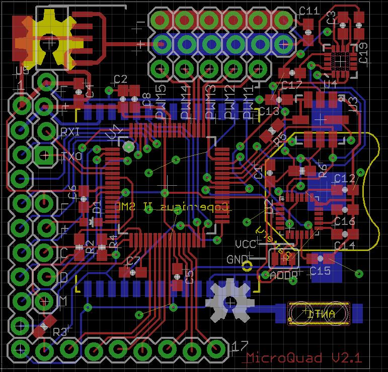 MicroQuad V2.1