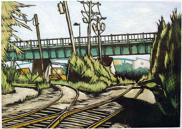 Railroad Landscape I