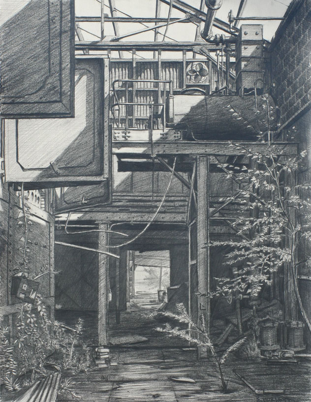 "Study for ""Doorway"""