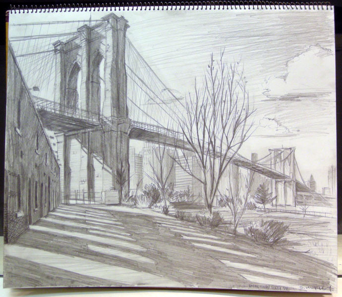 Brooklyn Bridge Study