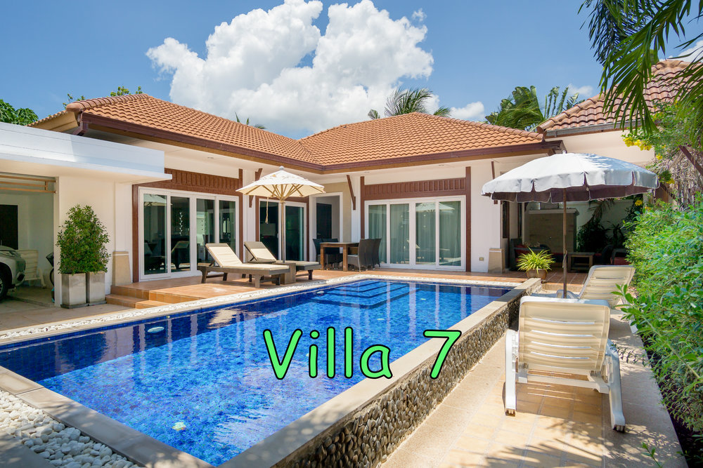 Villa 7 - 3 Bed - 2 Bath - Sleeps 6 - Click on the photo for more images