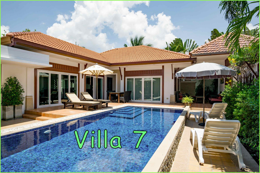 Villa 7: 3 Bed / 2 Bath / Sleeps 6 ---- Click on the photo for more images