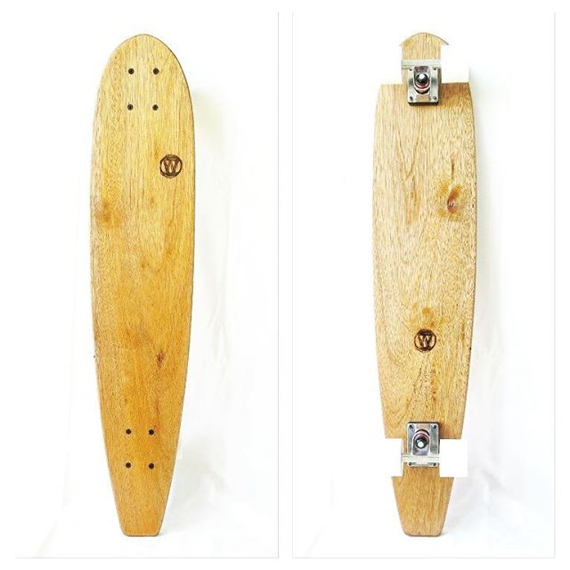 T h e  L o n g j o h n Hand shaped 90cm timber cruiser in eco-salvaged solid Queensland Maple ✌🌱 . . . #handmade #handcrafted #ecofriendly #skateboard #sustainable #sustainability #environment #ecosalvaged #reclaimed #recycled #longboard #longboarding #skateboarding #skate #surf #retro #vintage #woodwork #woodworking #recycledwood #recycledtimber #salvaged #reclaimedwood #eco