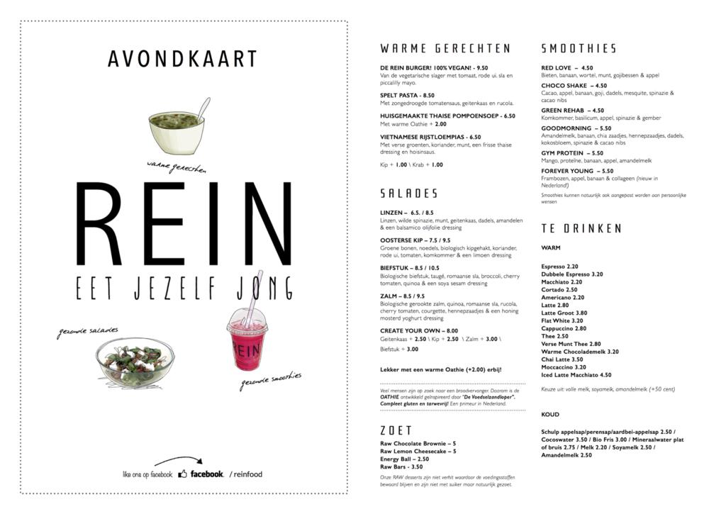 avond-menu