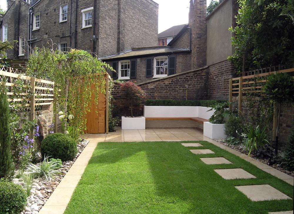 Formal Front garden — Living Gardens