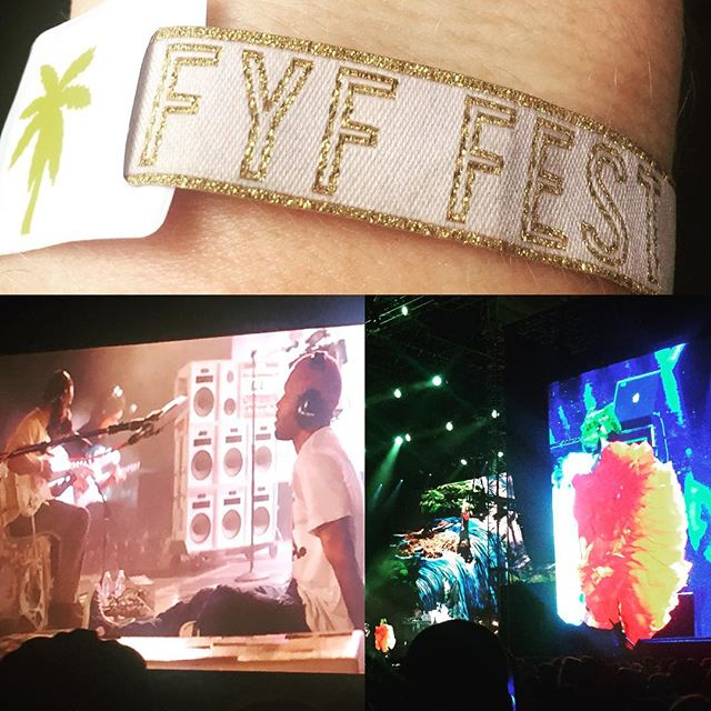 FYF Fest performances blew away every other festival I have ever been to. So grateful to be able to see masters showing up like I've never seen. Just Bjork alone would have been worth the trip!
