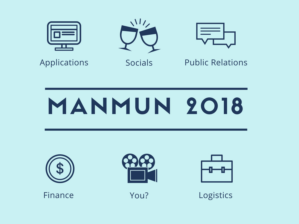 Become an editor for ManMUN 2018! Apply by the 1st of July -