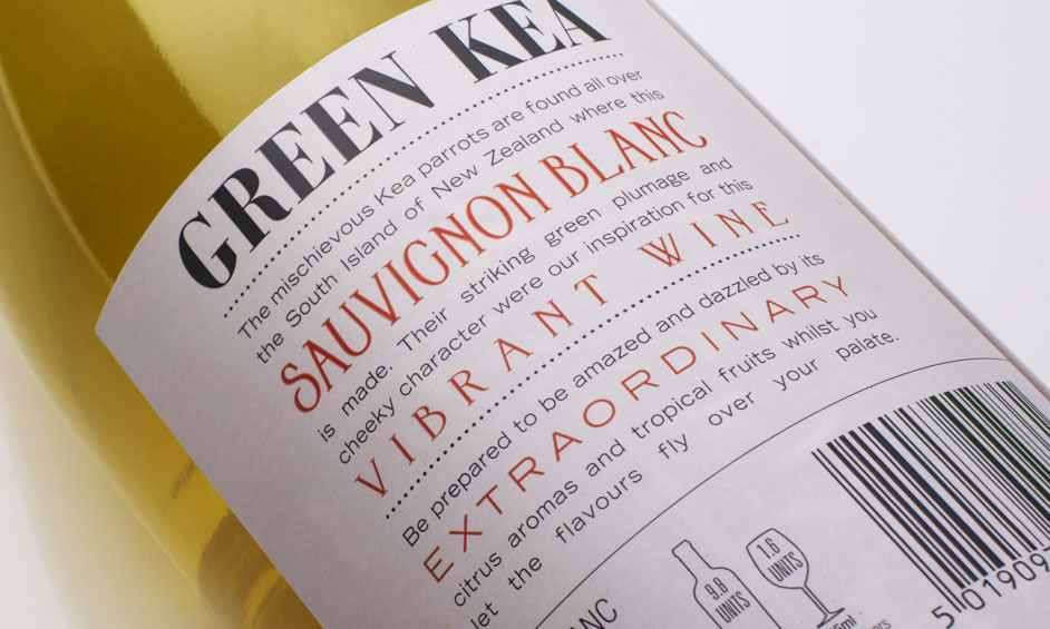 The Green Kea Branding and Label Design