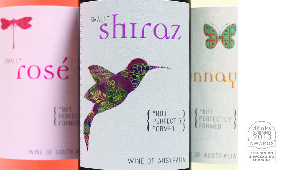 Shiraz Wine Label Design