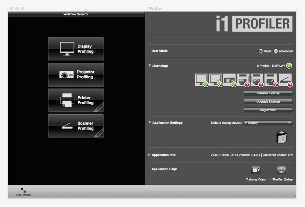 i1 Profiler X-Rite | Daniel Sommer Photography