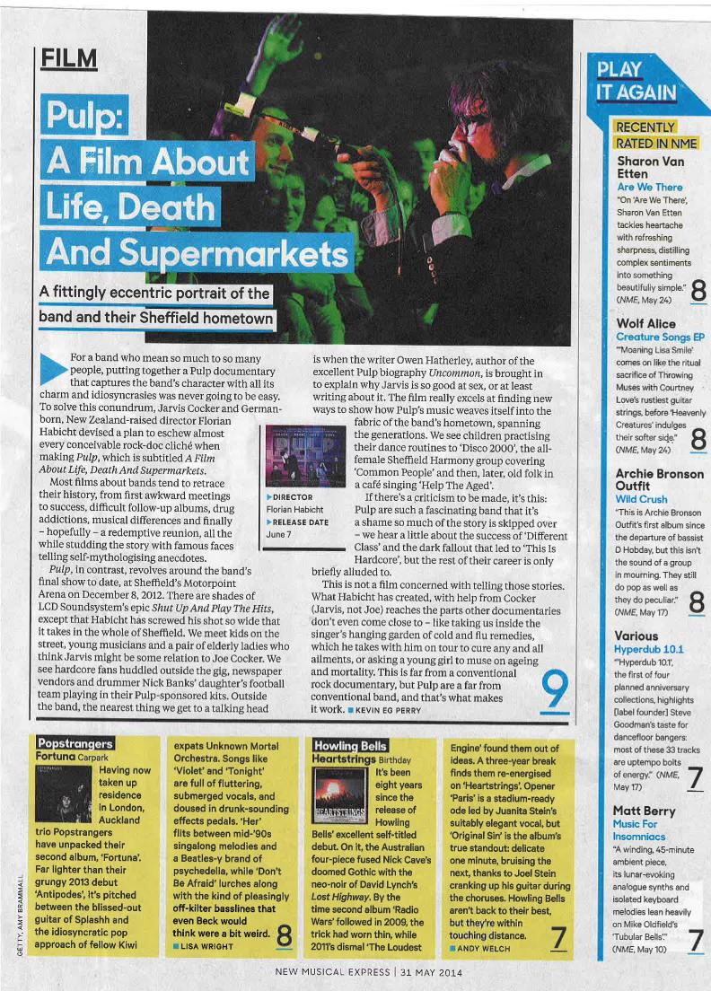 NME Magazine 9/10 !