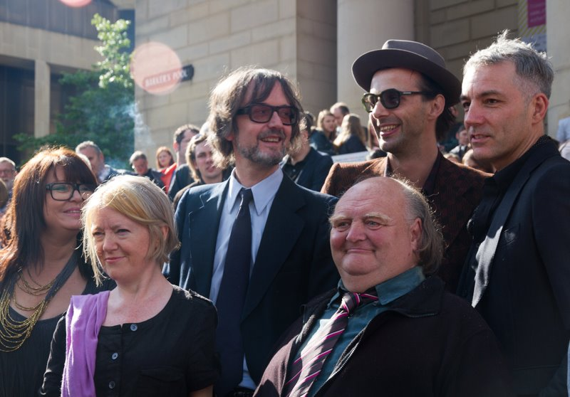 Outside Sheffield City Hall, Opening of Sheffield Doc Fest 7 June 2014  Photo by Maria Panagiotidi