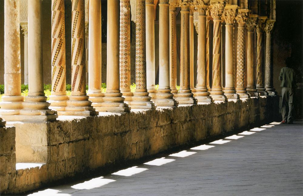 Scorcio del Chiostro / Duomo di Monreale