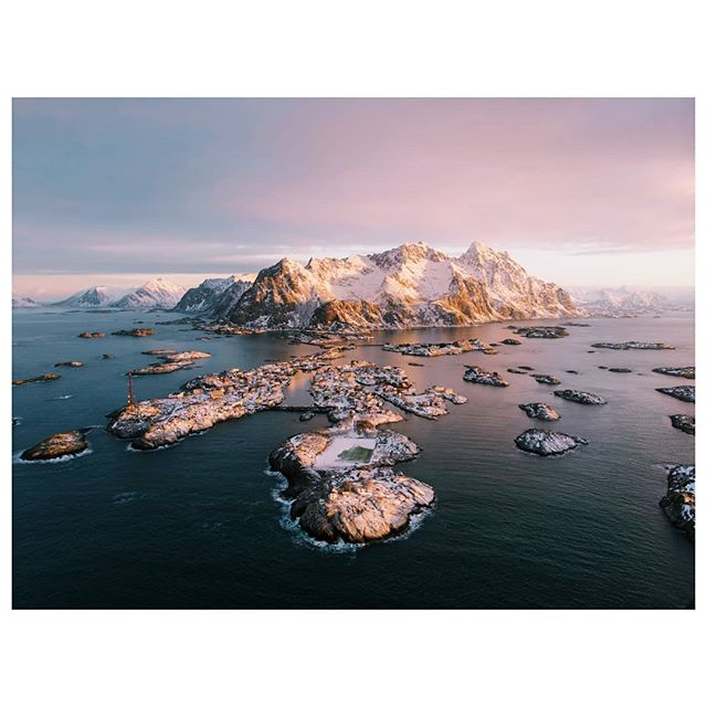 • So freaking happy how my drone shots turned out on this amazing @momenttravel trip! Wasn't happy with my first ever drone flight in Henningsvaer but now I'm stoked! Wheres somewhere you always wanted to fly a drone? • . . . . . . . . . . . . #visitnorway #shotonmoment #momenttravel #bealpha #sonyalphapro #flynorwegian #norway🇳🇴 #eclecticshotz #fromwhereidrone #folkscenery #stayandwander #rei1440project #dji