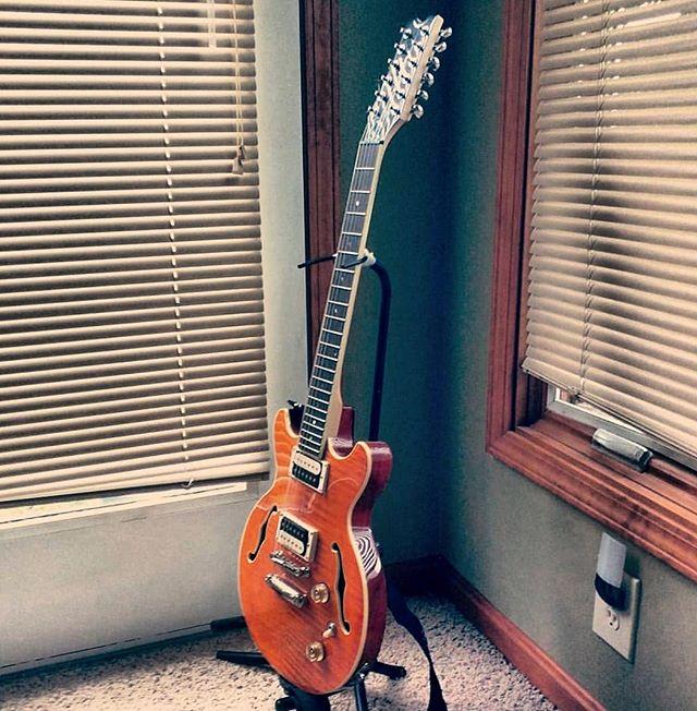 www.shawnsleepsnaked.com  #dean #boca #12string #guitar #music #art