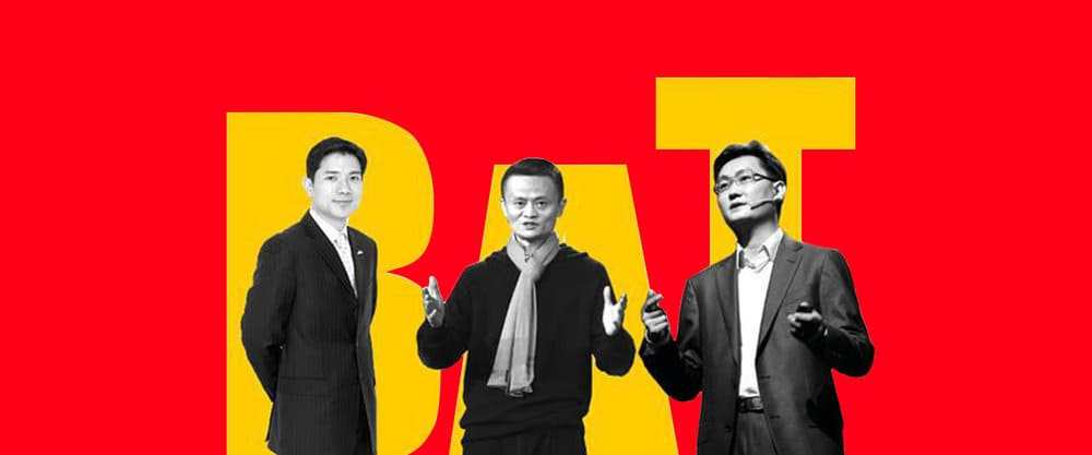 Chinese internet's three major players