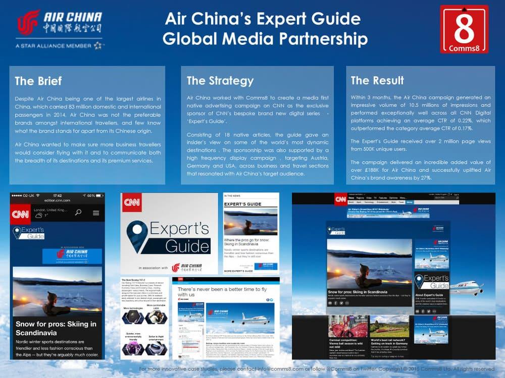 Air China marketing campaign