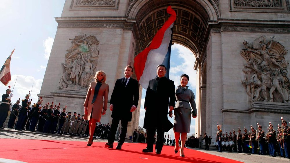 Xi's visit to France