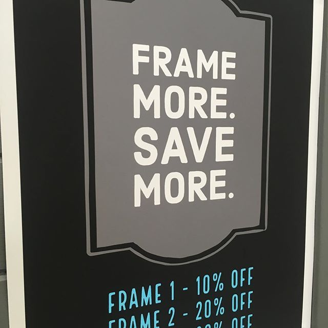 Picture framing sale at #pictureitinaframe ! Many people have items needing professional framing. Now is a great time time to get it done! #framing #pictureframing #custompictureframing #cornerbrook #cornerbrooknewfoundland