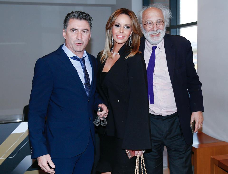 Με τον κ. Αλέξανδρο Λυκουρέζο στην εκδήλωση για τα 90 χρόνια ζωής του ΠΑΟΚ.