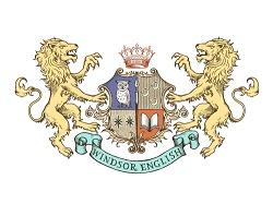 ウィンザー英会話のロゴ