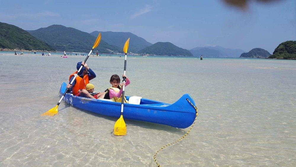 Kayak with Irene