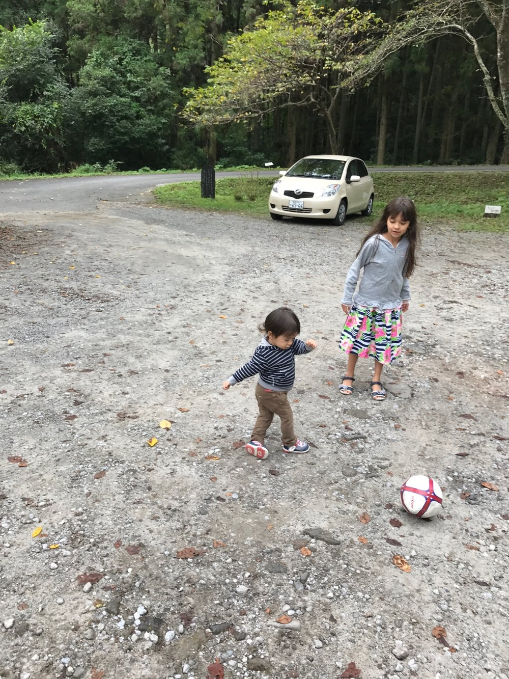 Alexander playing football
