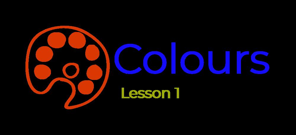 Lesson 1 - Colours
