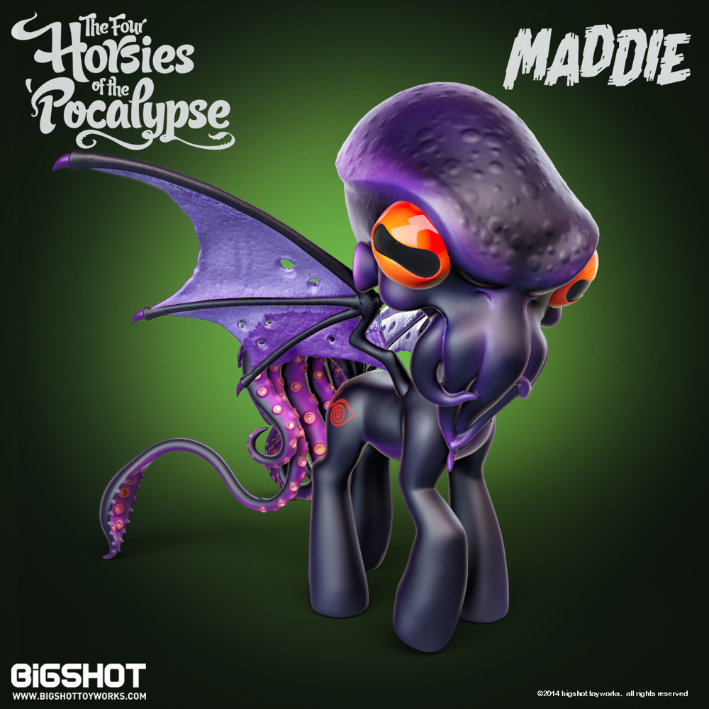 Maddie Cthulu front view