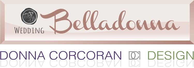 Wedding Belladonna | Donna Corcoran Design