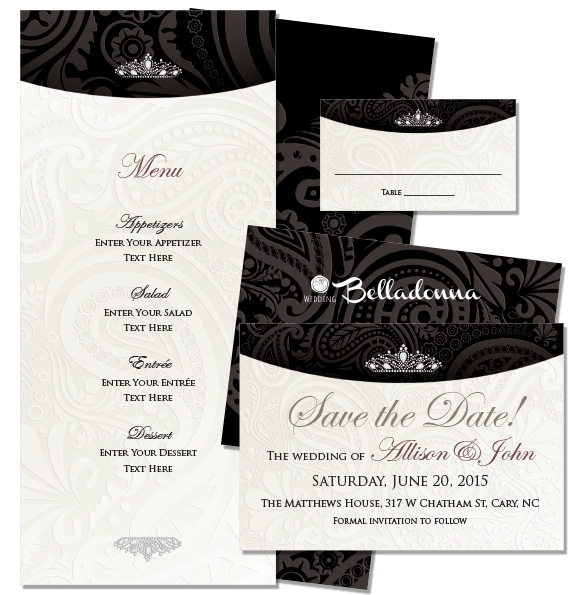 Wb formal wedding belladonna donna corcoran design formal royal paisley noir royal pais noir 3 suite stopboris Image collections
