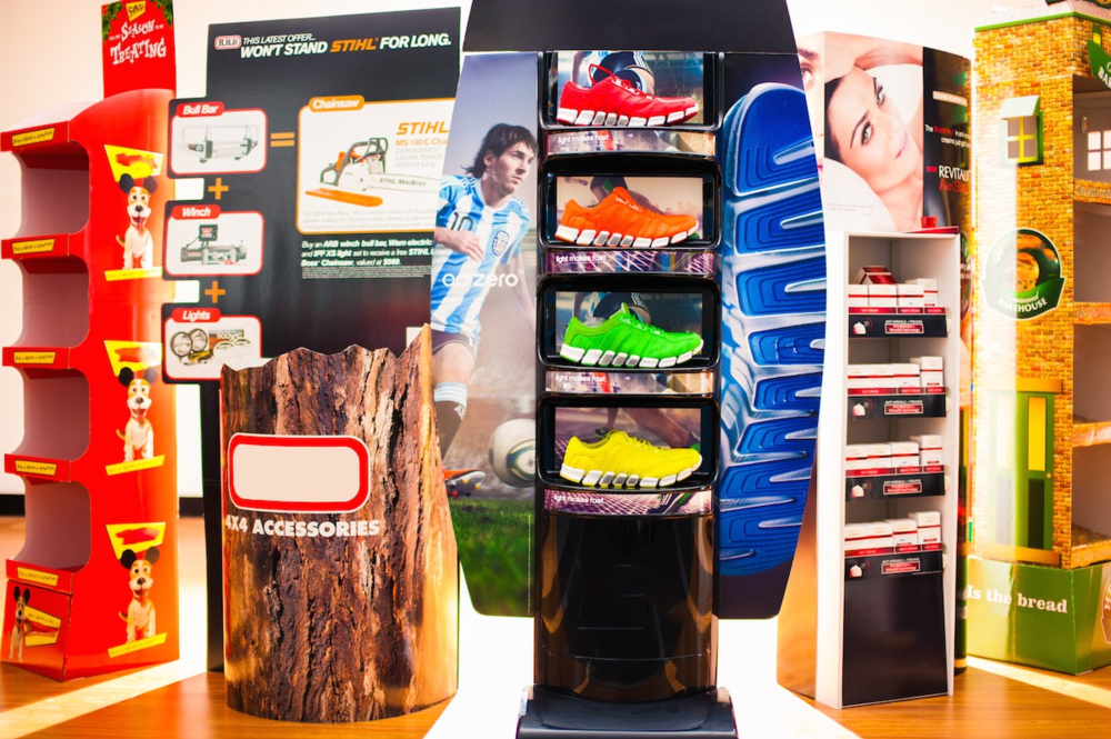 point of sale displays visy for a better world