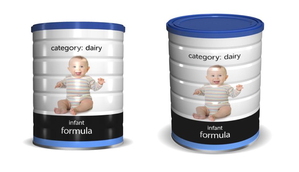 Infant Formula Cans