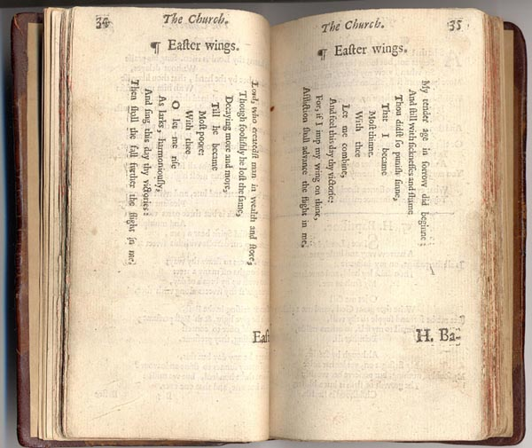 "George Herbert's ""Easter Wings."""
