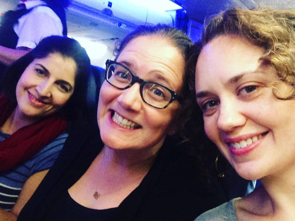 Hallelujah!  All three DUCHESS gals made the flight!