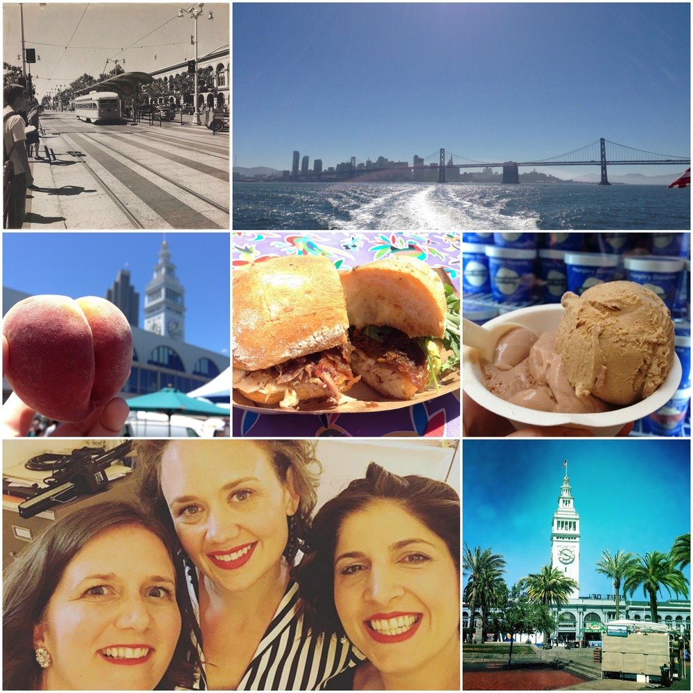 A perfect day in sunny San Francisco and Oakland!