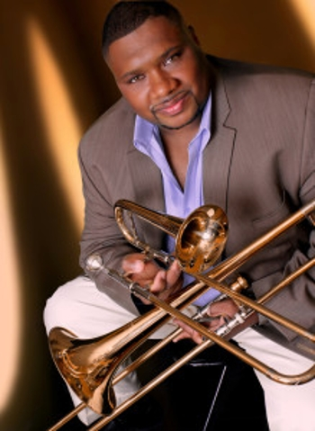 Trombonist, trumpeter, vocalist extraordinaire, the always-swinging Wycliffe Gordon!