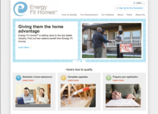 Energy Fit Homes Website Copy