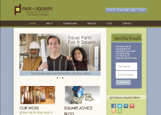 Fair & Square Remodeling Website Copy