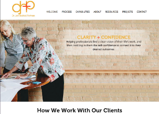 Dr. Jan Hoistad Consulting Website Copy