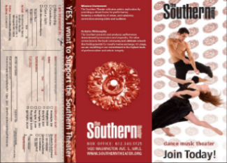 Southern Theater Membership Brochure