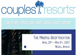 Couples Resort Vacation Package Flyer