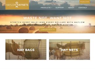 HayLow HayNets Website Content